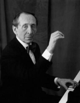 El pianista Vladimir Horowitz
