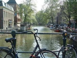 Canales y bicis en Holanda