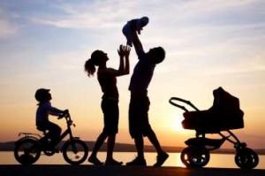 Niños familia