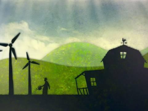 El granjero de molinos de viento – Imaginación CinemaSlow