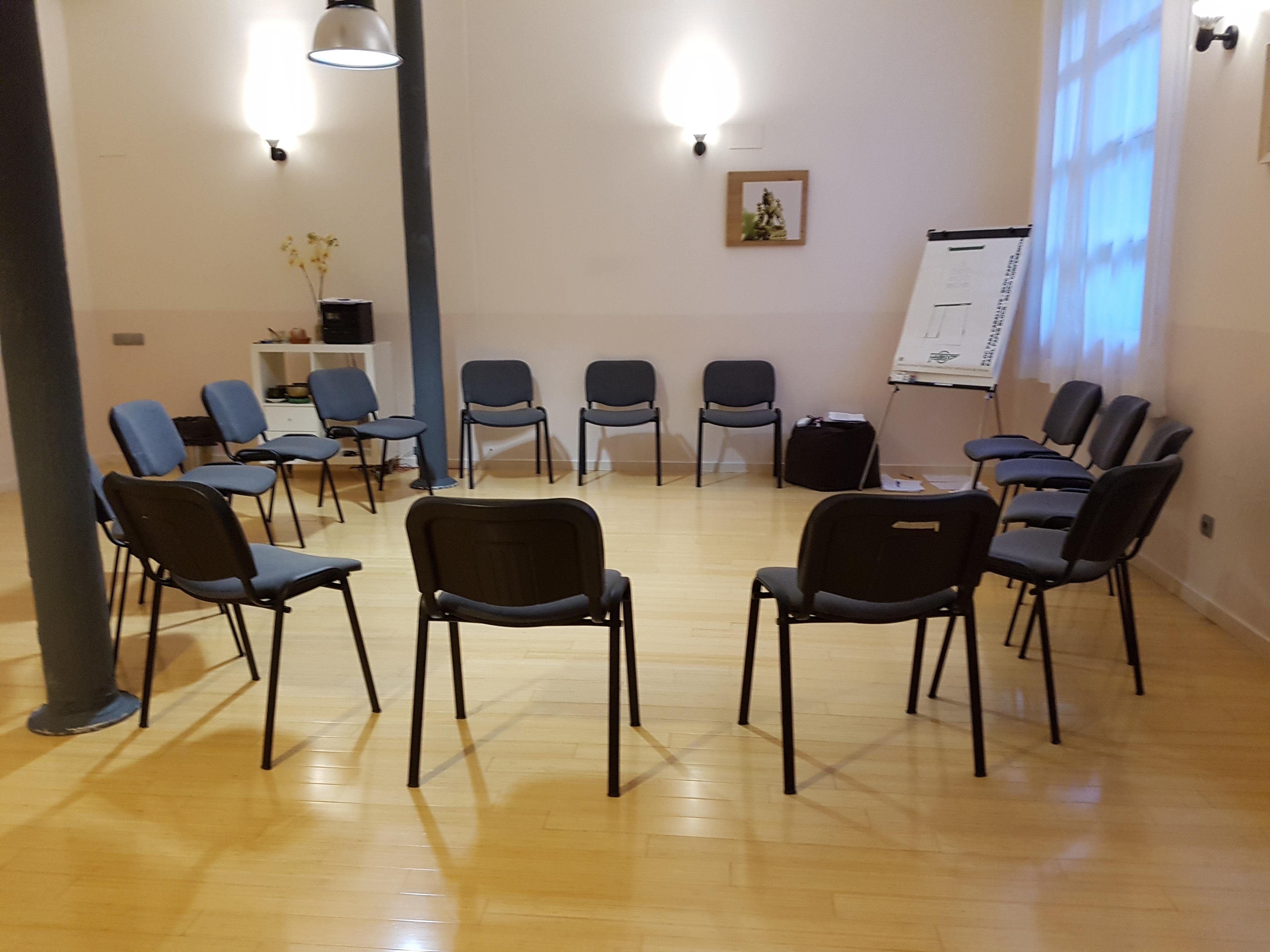 Sala curso MBSR