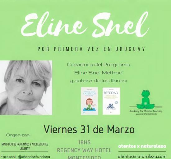 Conferencia de Eline Snel en Uruguay, mar 2017