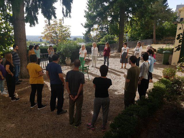 Formación método Eline Snel oct/dic 2017 en El Escorial