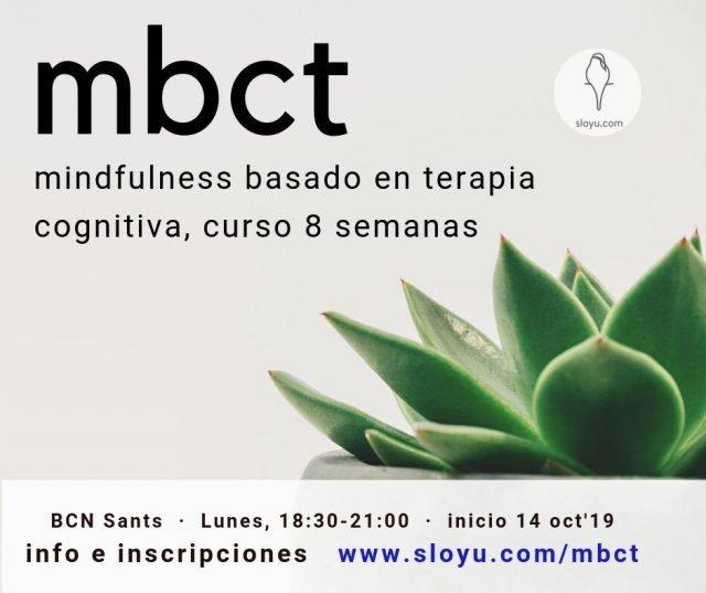 Curso MBCT en Barcelona